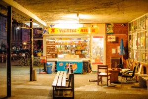 X-Viertel-Kiosk