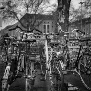 Fahrradparkplatz hinter dem Hauptbahnhof