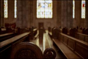 In einer großen Kölner Kirche
