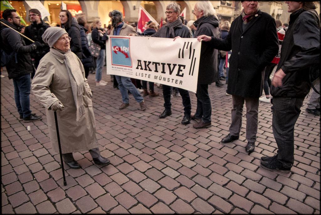 Von der Großmutter bis zum Erstie waren Münsters Bürger auf den Beinen