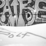 Graffitti on ice